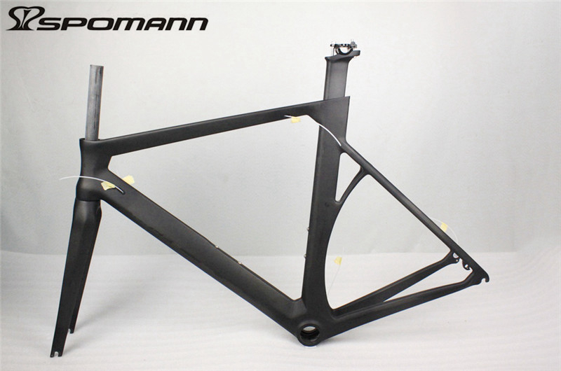 New design carbon bike frame road bicycle frameset with fork seatpost headset clamp di2 carbon 700C road frame bicicleta parts 2018 t800 full carbon road frame ud bb86 road frameset glossy di2 mechanical carbon frame fork seatpost xs s m l og evkin