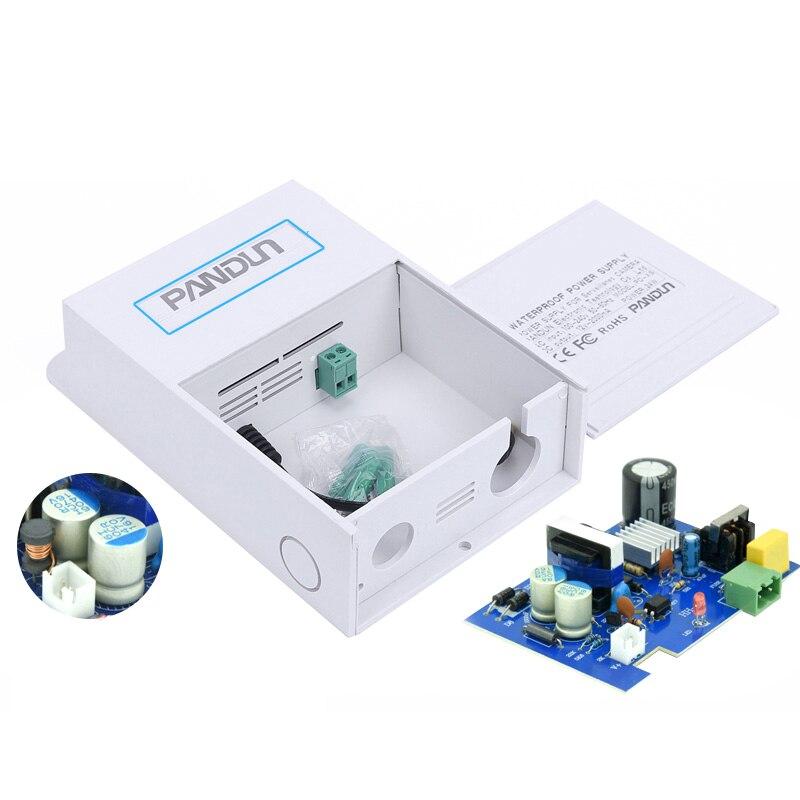 Monitor de CCTV cámara resistente al agua caja 12V2A fuente de alimentación cámara resistente al agua caja tipo de cámara al aire libre adaptador de corriente