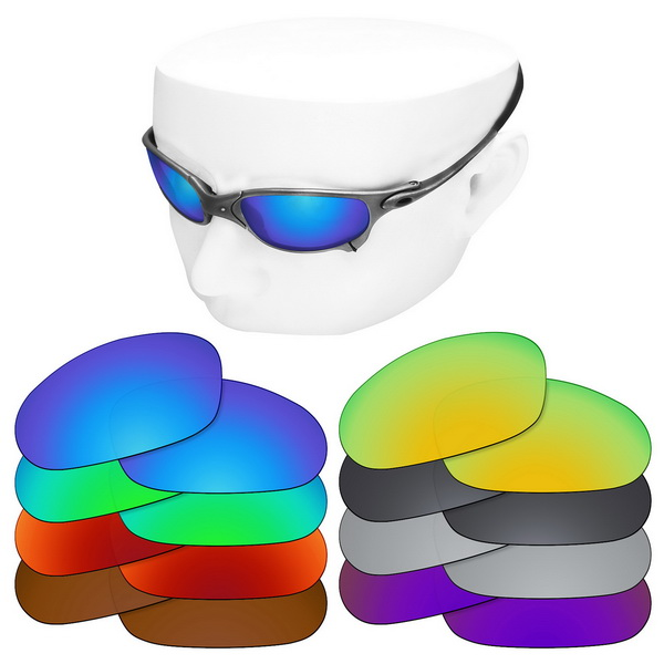 OOWLIT Polarized Replacement Lenses For-Oakley Juliet Sunglasses