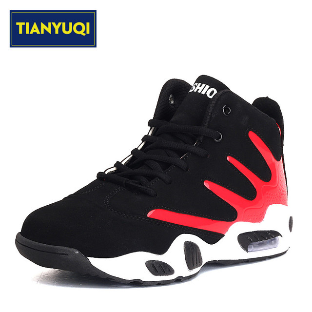 UK Shoes Store  Mens Outdoor Damping Wearable Basketball Leisure Sneaker Sports Athletic Shoes