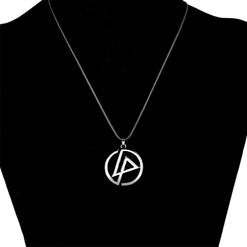 LNRRABC High Quality Silvery Linkin Park Punk Women Unisex Fashion Popular Pendant Necklace Fashion Jewelry