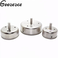 3Pcs 2.5 3 4 inch sets Diamond Coated Drill Bit Hole Cutter Saw Glass Tile
