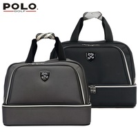 High Quality Authentic Famous Polo Golf Double Clothing Bag Men And Women Travel Golf Shoe Bag