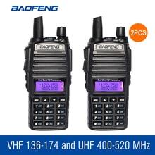 2 шт./лот Baofeng UV-82 ручной Портативная рация Dual Band двухстороннее Радио BF CB Радио Communicator Портативный ham Радио трансивер