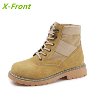 Fashion Martins Women Boots Autumn Winter Martin High Top Casual Shoes Woman Boots Ankle Botas Motorcycle