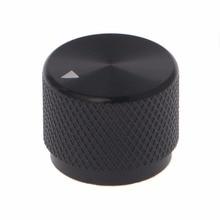 0.24″ Dia Black Aluminum Rotary Control Potentiometer Knob 20mm x 16mm LW Potentiometer Knob