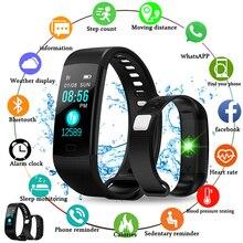 Y5 Smart Bracelet Band Color Screen Heart Rate Smart Watch Sport Fitness tracker