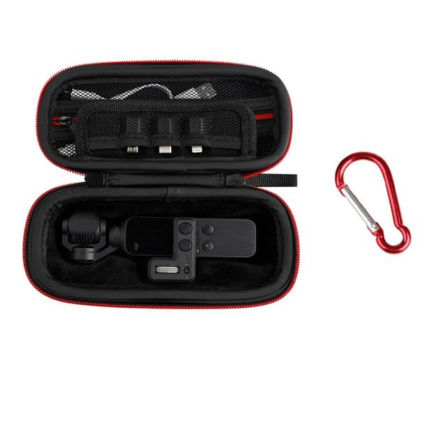 حافظة محمولة Osmo جيب مع التحكم عجلة الطلب صندوق تخزين حقيبة ل dji Osmo جيب كاميرا gimbal اكسسوارات