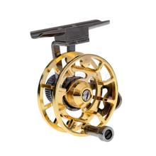 Ice Fishing Reel Trout Fly Reels Round Portable Smooth Winter Fishing Tackle Reel 2 Color Available