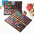 Fashion PU Snakeskin Pattern Eyeshadow Makeup Palette 80 Color Shimmer Glitter Eyeshadow Mineral Cosemtic Makeup Set Kit