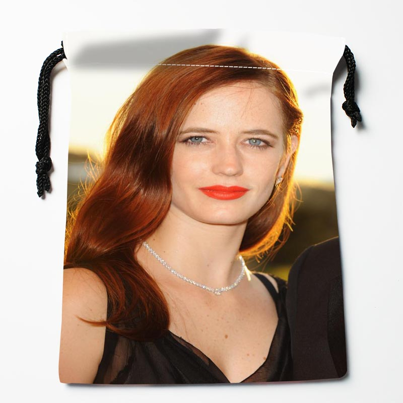 New Arrive  Eva Green  Drawstring Bags Custom Storage Bags Storage Printed Gift Bags More Size 27x35cm DIY Your Picture