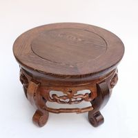 Red Wood Real Wood Household Act The Role Ofing Is Tasted Handicraft Furnishing Articles Wenge Vase