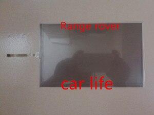 Boa qualidade 8 polegada 4 pinos Lente painel Digitador Da Tela de toque de vidro Preto para LQ080Y5DW30 LQ080Y5DE30 LCD do carro Range Rover DVD