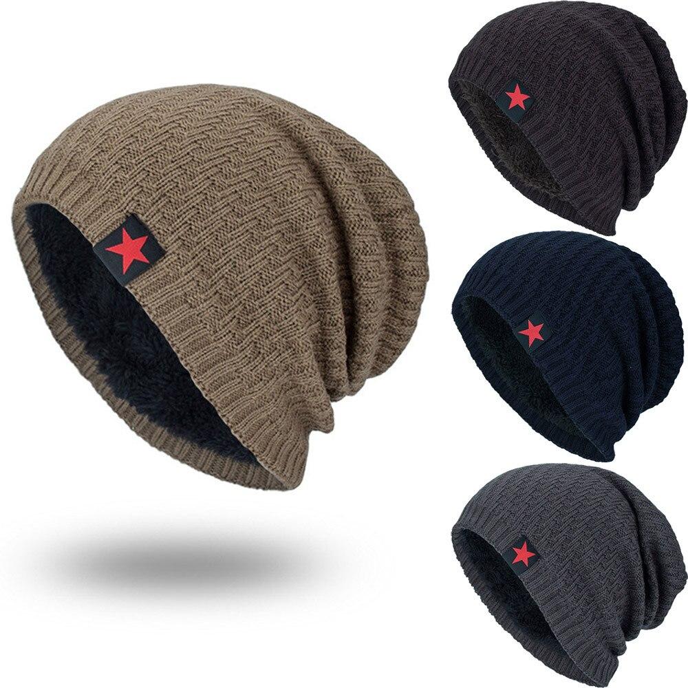 Us Flag Peace Sign Skull Cap Helmet Liner Beanie Cap for Men Hip Hop Hedging Head Hat