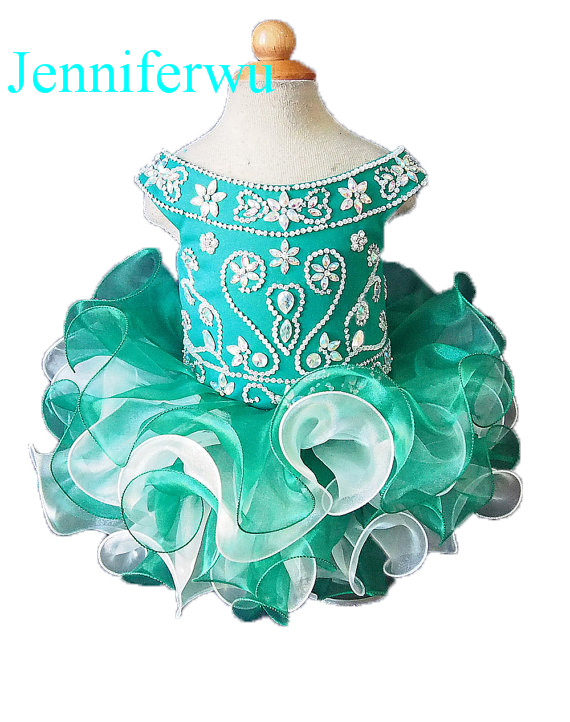 15 color stone beaded  infant and toddler girl pageant dress   flower girl dresses    girl party dresse1T-6T G092-2 15 color infant girl dress baby girl pageant dress girl party dresses flower girl dresses girl prom dress 1t 6t g081 4