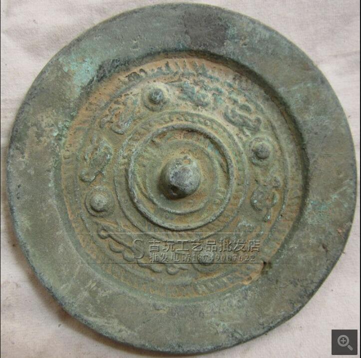Antique Bronze Antique Bronze Mirror Exquisite Ornaments