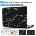Fashion Marble hard case for Apple Macbook Pro 15 inch laptop bag for Macbook pro 15.4 cover sleeves for macbook pro 15 case