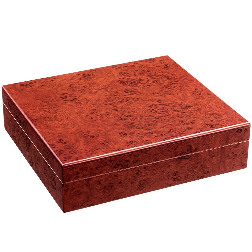 CIGARLOONG Cedar Wood Travel Cigar Humidor Magnets Hygrometer Humidifier For Cohiba Cigars Humidor Case Christmas Box
