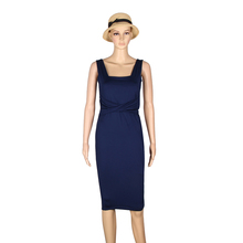 Women Dress Knee-lenght Sleeveless Bodycon Package Hip Dress Skinny Pleat Nightclub Dress plus size LJ8361R