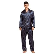 Tony ve Candice erkek leke ipek pijama seti erkekler pijama ipek pijama erkekler seksi Modern tarzı yumuşak rahat saten gecelik erkekler yaz