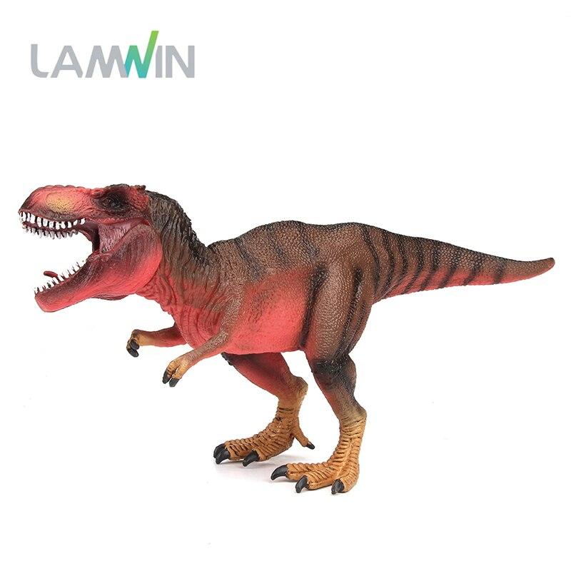 Lamwin Baru Jurassic Dunia Park Merah Tyrannosaurus Rex Dinosaur