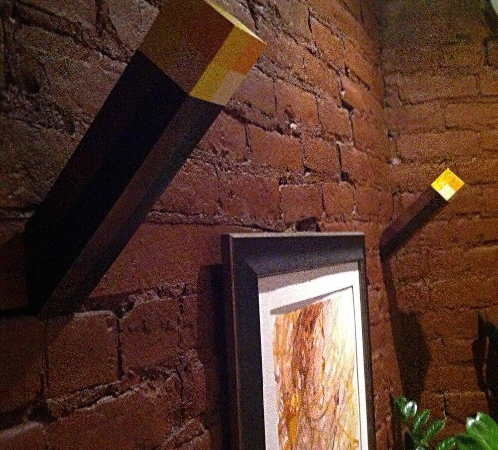 Minecraft Fackel Lampe mit Wandbefestigung kaufen