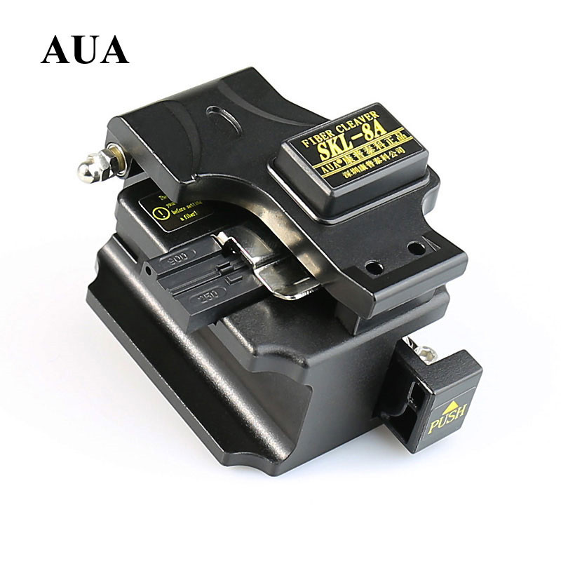 AUA Metal Fiber Cleaver Cable Cutter SKL-8A FTTH Fiber Optic Cold - Communication Equipment