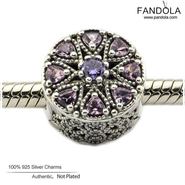 Se adapta a pandora charms pulsera auténtica plata de ley 925 shimmering medallio granos del encanto para la joyería que hace diy fina