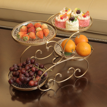Фруктовая тарелка для гостиной, креативная современная бытовая тарелка для сушеных фруктов, тарелка для конфет, Европейский журнальный столик, многофункциональная тарелка