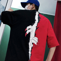 2018 summer Hip Hop Funny T shirt Men Deadpool Camiseta Masculina Harajuku Adventure Time Men's T Shirts Brand Boys