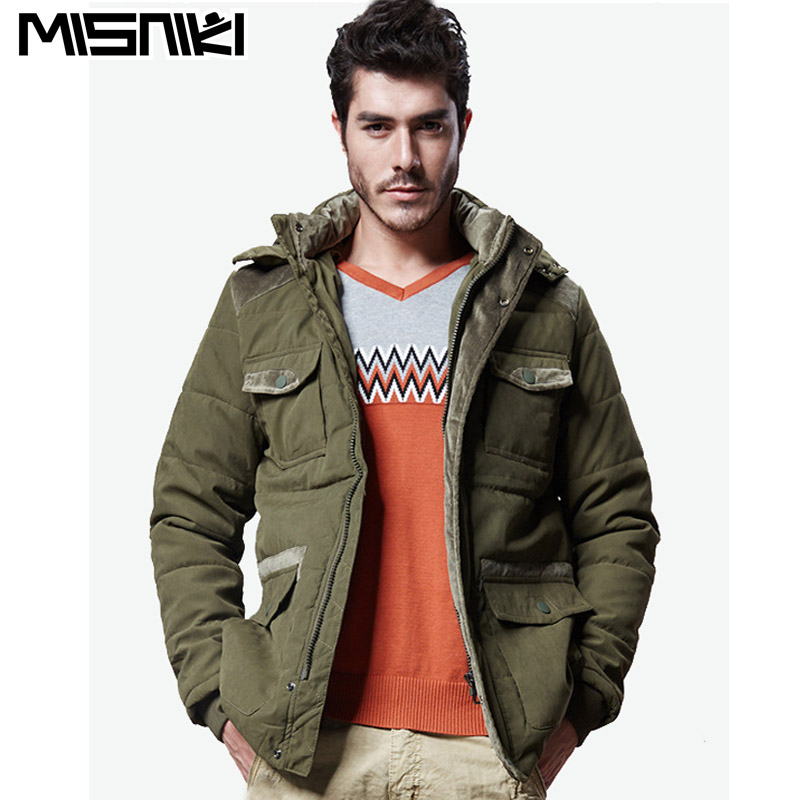 MISNIKI 2017 new arrivals men winter jacket hooded warm outwear overcoat male parkas M 3XL