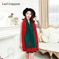 Desigual femmes одеяло шарф люксовый бренд écharpe хиджаб новый Кашемир Женщин Долго моды Осенью и зимой шарфы пашмины