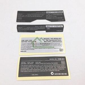 Image 2 - Cho GBA/GBA SP/GBC Tay Cầm Chơi Game Mới Lables Lưng Miếng Dán thay thế cho Gameboy Advance/SP/ màu sắc