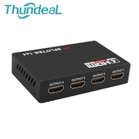 HDMI Splitter Full HD 1080p 2K 4K Video HDMI Switch Switcher 1X2 1X4 Split 1 In
