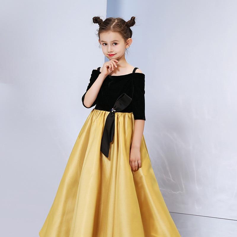 Mère fille enfants robe vêtements maman et enfants robe complète famille correspondant tenues bébé filles vêtements robe de soirée C0245 - 6