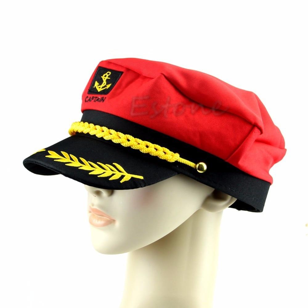 Militärhüte Bekleidung Zubehör 2018 Neue Unisex Adult Erreichte Skipper Sailors Navy Kapitän Bootfahren Hut Kappe Phantasie Kleid Duftendes Aroma