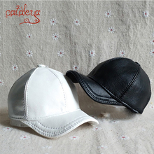 BJD/ SD 1/3 1/4 1/6 1/8 1/12 doll Solid color PU curved baseball cap cap hat (Customized products: please provide head size) недорого