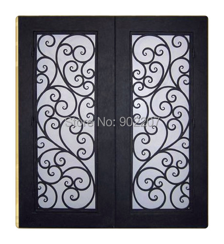Ironmongery World negro hierro antiguo Fancy bisagras para puertas con forma de hoja 6///9//–/6.