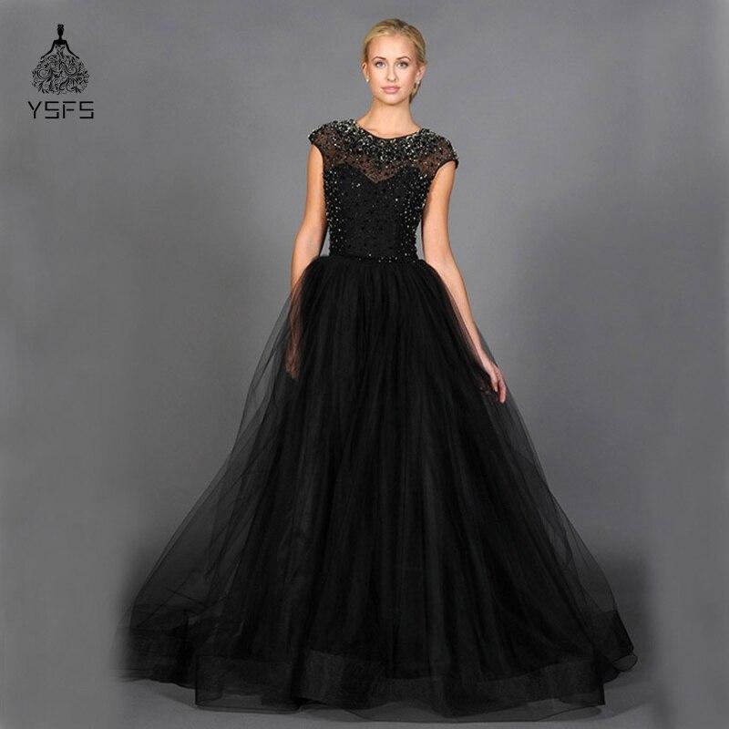 Черные женские вечерние платья