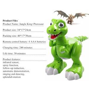 Image 5 - RC 恐竜ロボットおもちゃジェスチャーセンサーインタラクティブリモートコントロールロボット Spary 恐竜スマート電子玩具ラジオ制御