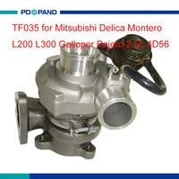 turbo part TF035 turbo charger kit 49135 04210 for Mitsubishi Delica Montero L200 L300 Galloper Pajero 2.5L 4D56 diesel engine
