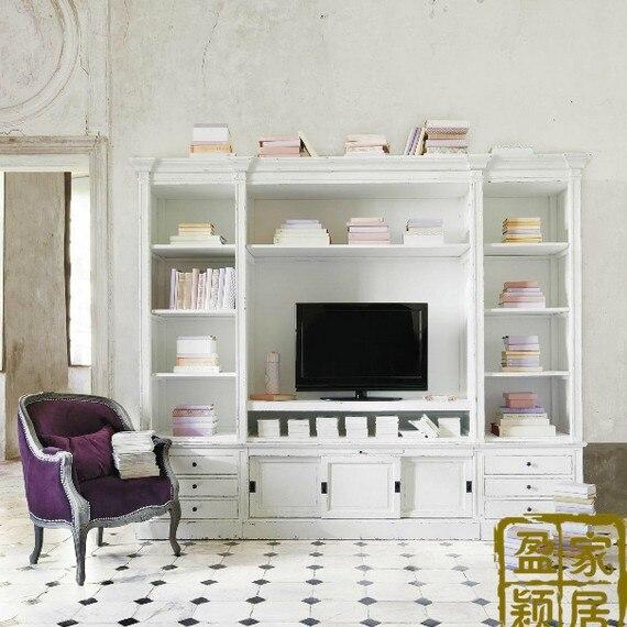 Americano mueble tv madera mueble de televisi n moderno - Muebles de tv modernos ...