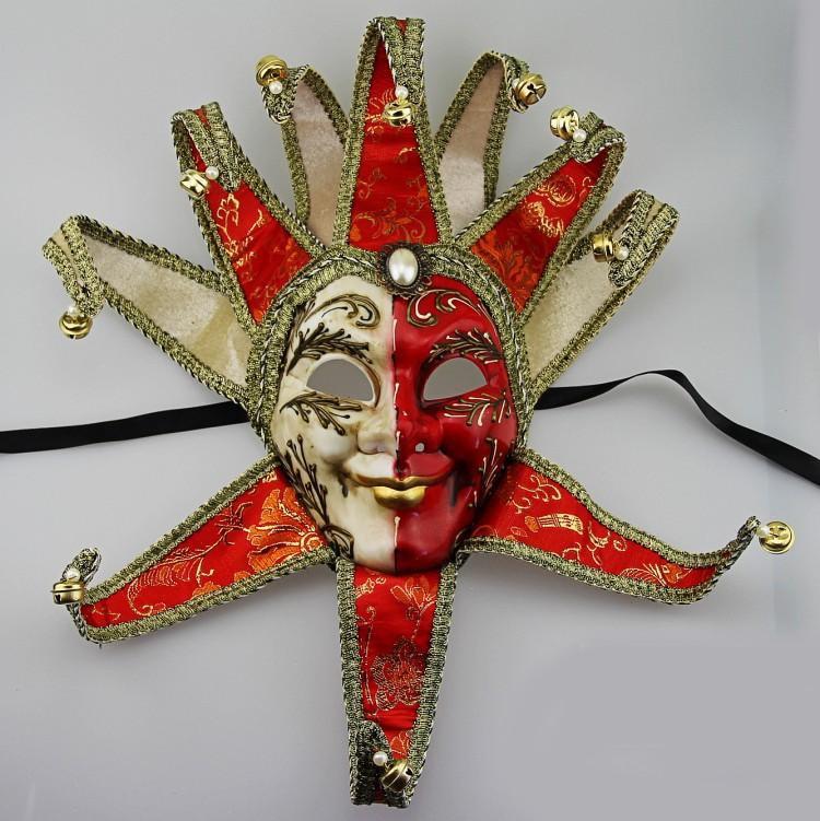 Aliexpress.com : Buy Luxury Full Face Venetian Joker Masquerade Mask ...