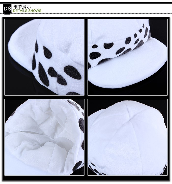One Piece Law Cotton Hats