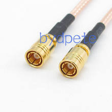 Cable SMB female jack to SMB female jack straight RG316 Jumper pigtail 4inch~10FT(China)