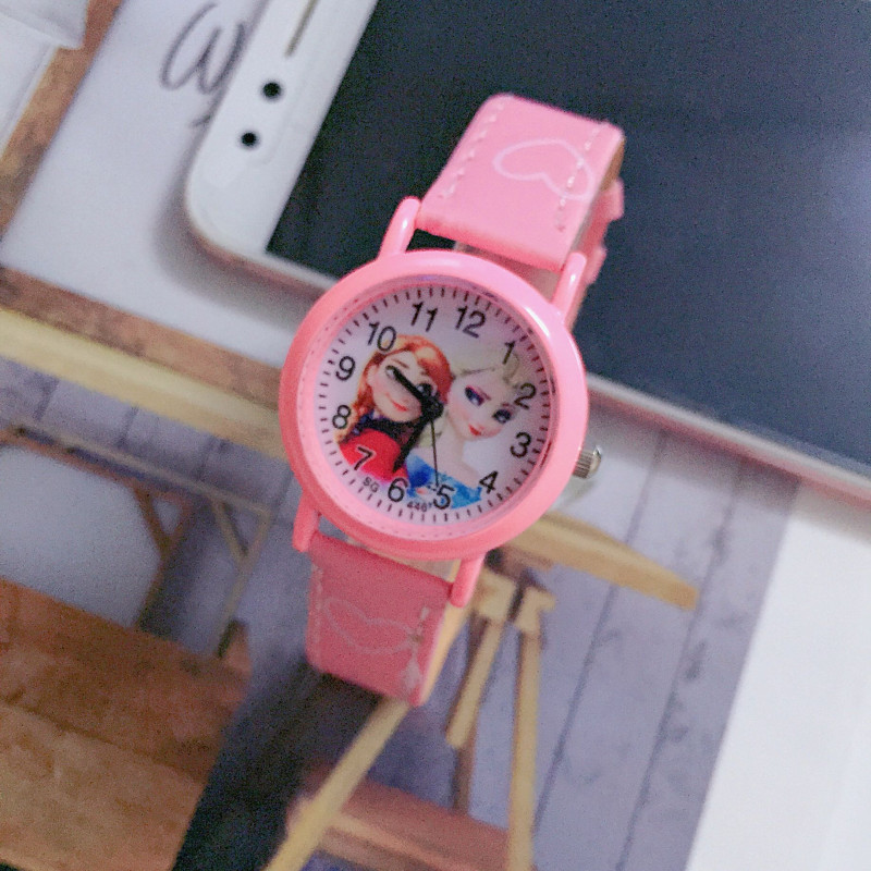 Child Christmas gift girl student clock children watch princess women quartz kids watches sports alloy dial leather wristwatchesChild Christmas gift girl student clock children watch princess women quartz kids watches sports alloy dial leather wristwatches