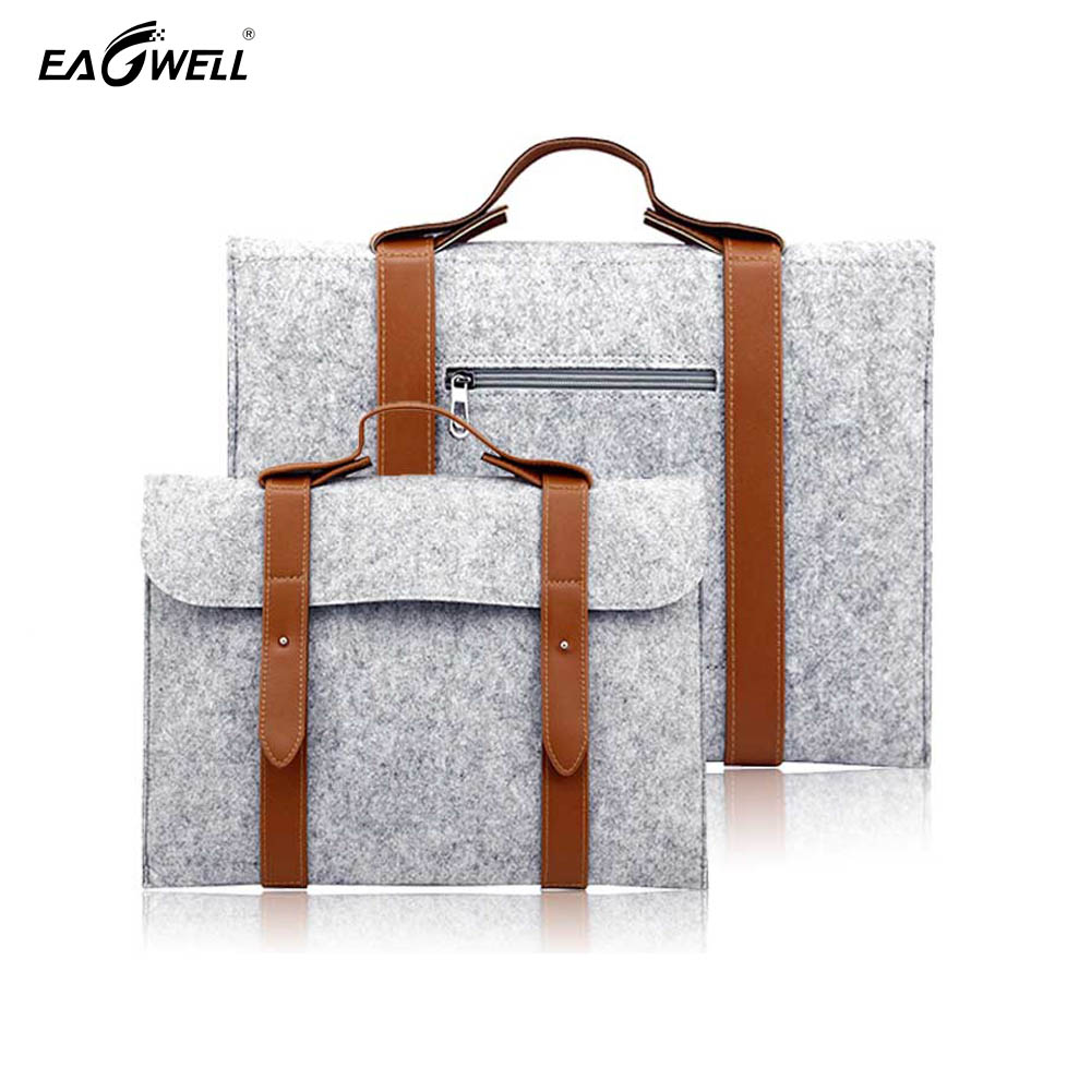 10 inch Universal Wool Felt Tablet Hand Bag Sleeve Case Pouch For iPad Pro 9.7 For iPad 2 3 4 Air 2 Table PC Cover Notebook Bag