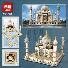 Lepin 17001 5952Pcs With Original Box City Creator Street The taj mahal Model Building Blocks Compatible Legoe 10189 gift