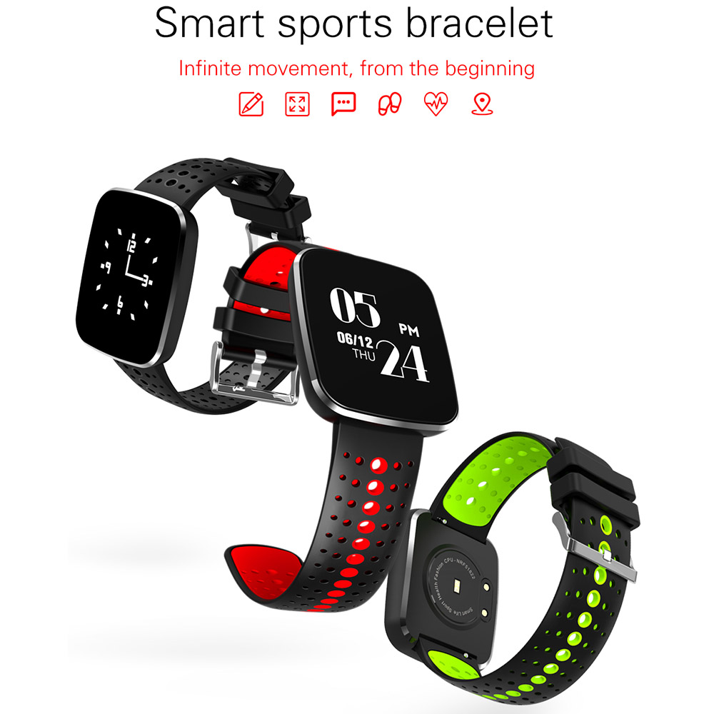 N8 Smart Wristband Band Heart Rate Fitness Tracker Bracelet Blood Pressure Oxygen Monitor Sport Watch for iPhone X 8 Plus 7 Plus