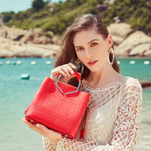 New 2019 Fashion Tote Bag For Women Shoulder Bags Luxury Handbags Designer Split Leather Purses And
